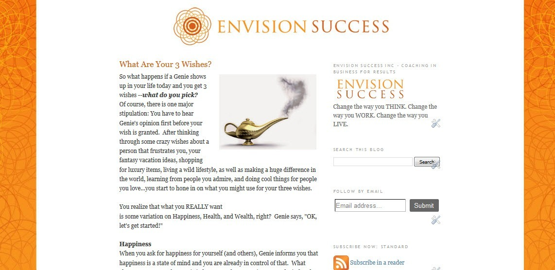 Envision Success Inc For RESULTS Blogger