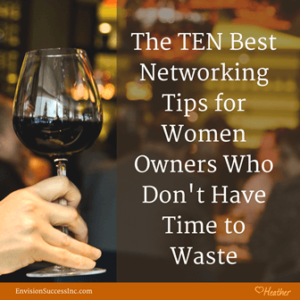 Networking Tips Business Owners